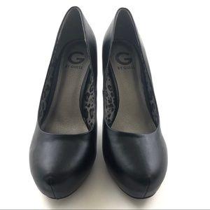 G BY GUESS LIZIA Platform Heels Women's 9.5M Black